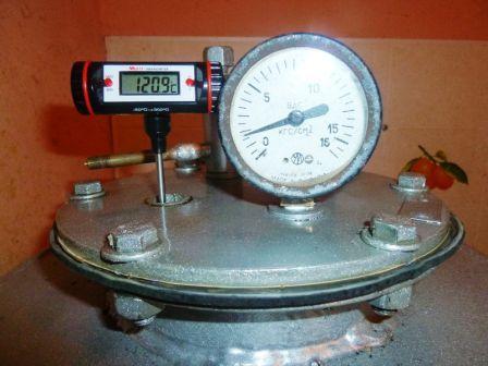 Автоклав 1 Зависимость температуры кипения воды от давления