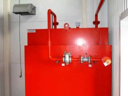 Фото. Жидкое и газообразное топливо. Бак запаса аварийного жидкого (дизельного) топлива