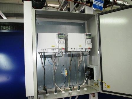 Фото. Автоматика безопасности котлов. Шкаф частотного регулирования сетевых насосов