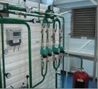 Сетевые и подпиточные насосы водогрейного котла
