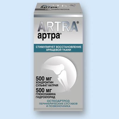 Фото. Препарат для лечения коленных суставов АRTRA