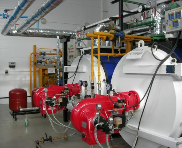 Водогрейная газовая котельная